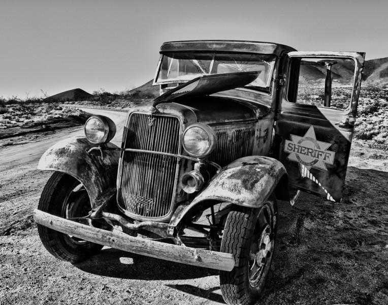 Sheriff Car 14x11 BxW