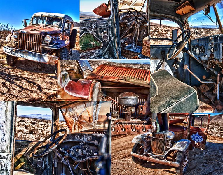 Old Car Cemetery 11x14