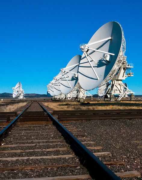 The National Radio Astronomy Observatory's Very Large Array is quite a sight to behold 2