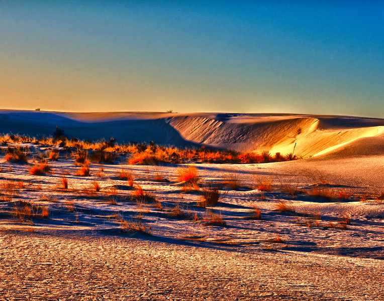 Sunrise at White Sands New Mexico 1527x1200
