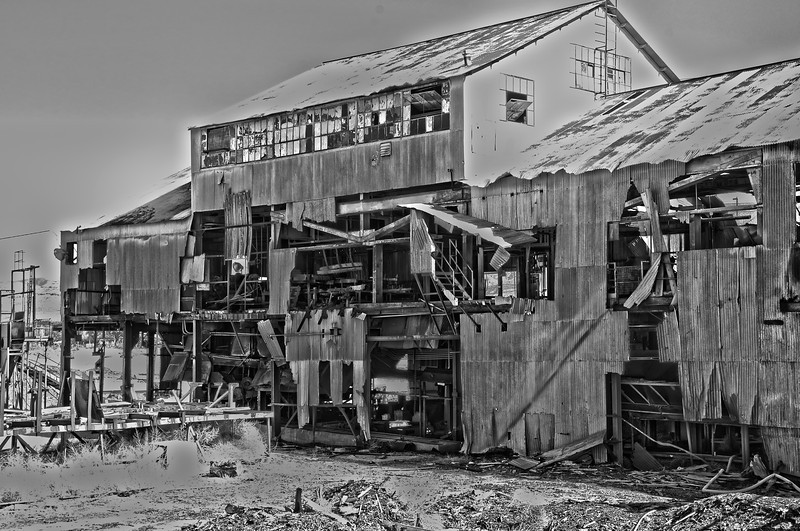 Old Factory White Sands New Mexico