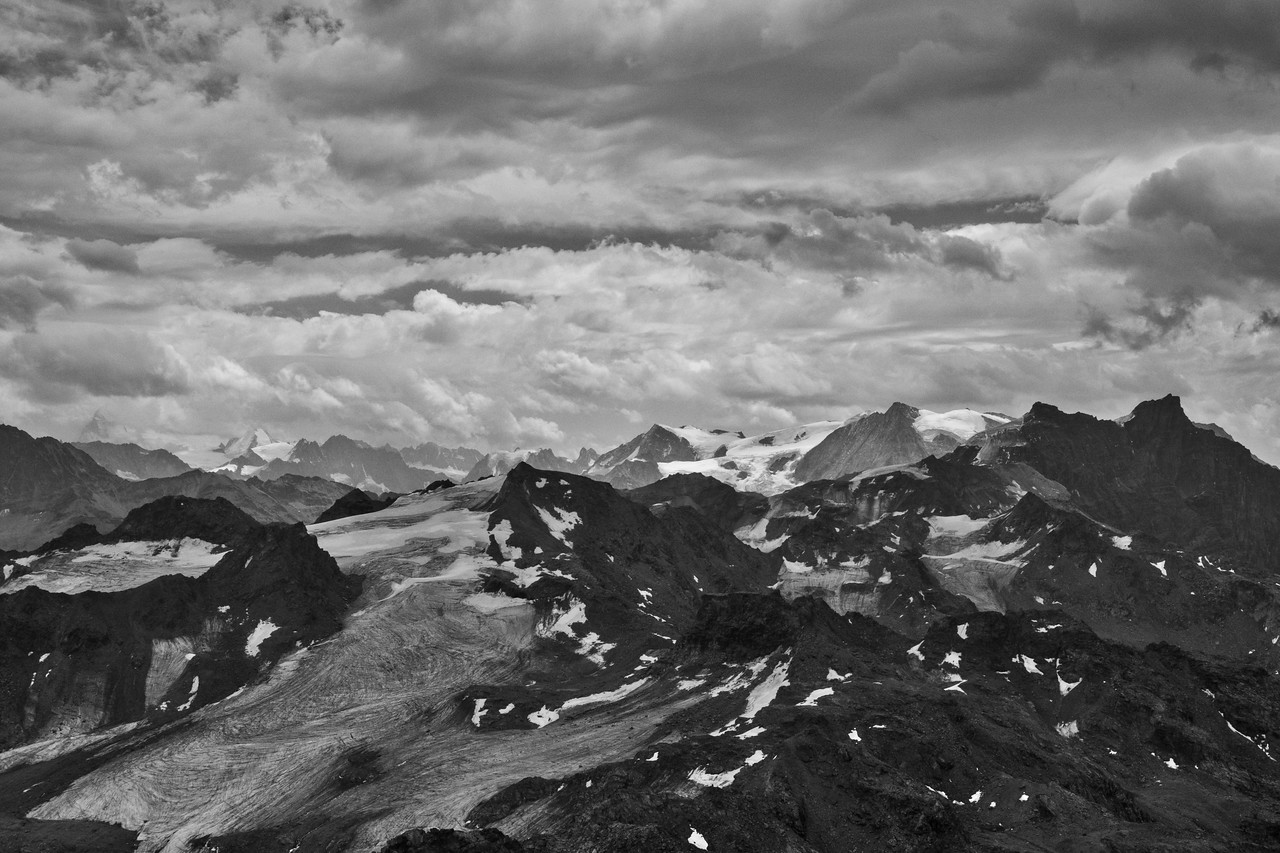 Mountains B&W