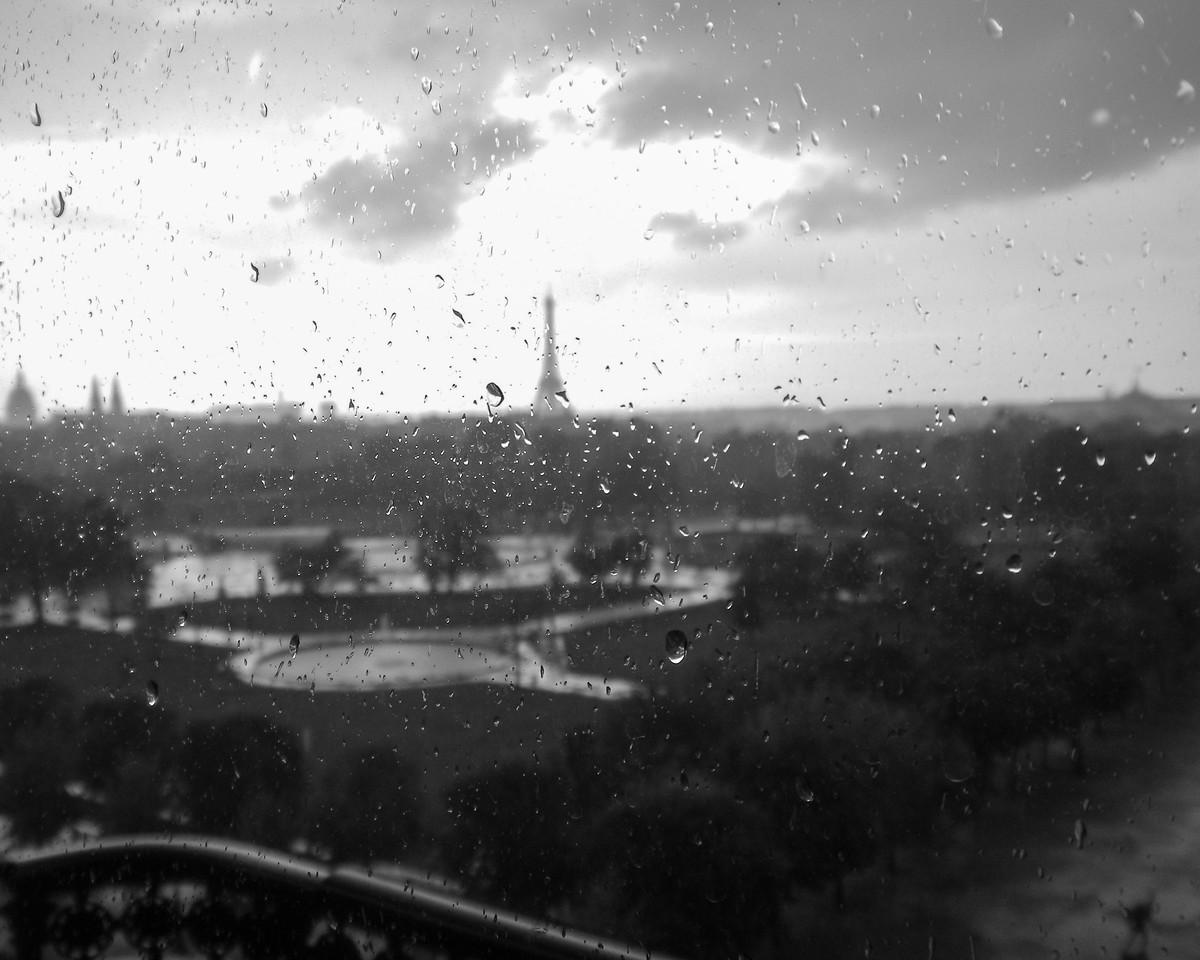 Merde, il pluit