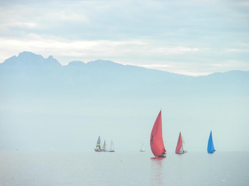 Lake Geneva Sailboats
