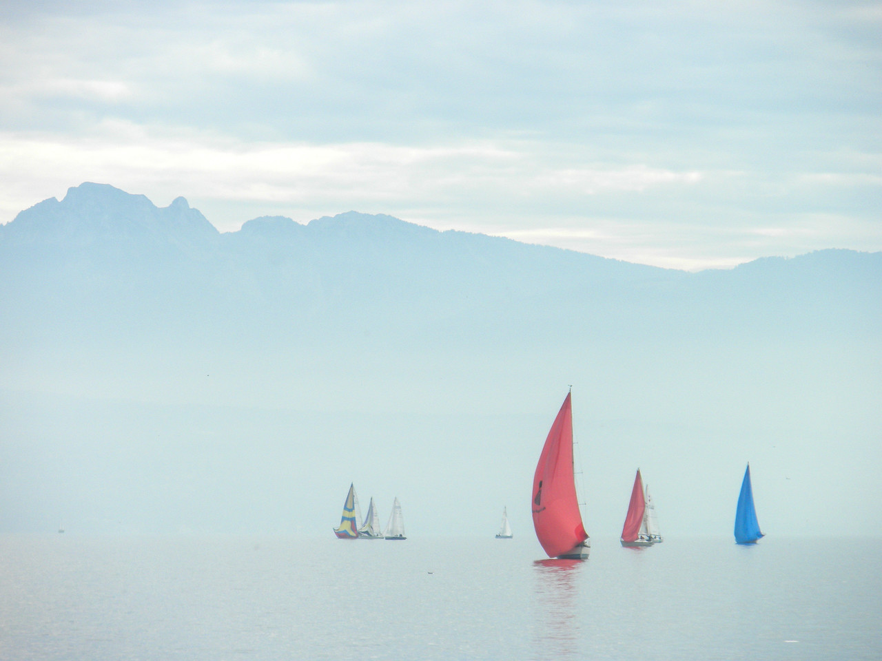 Lake Geneva Sailboats