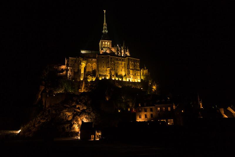 Goodnight Mont Saint-Michel (Saint-Michael)
