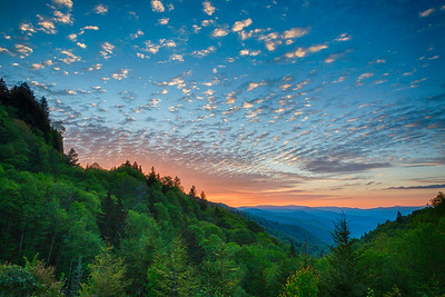 Dawn from Newfound Gap