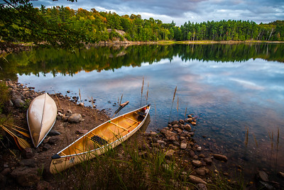 Autumn Camp - Frontenac Provincial Park