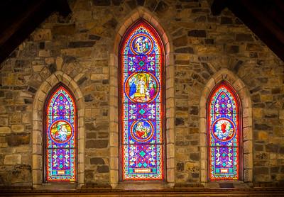 Frost Chapel Windows