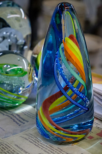One of the glass creations.