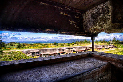 Command Bunker - Fort Stevens