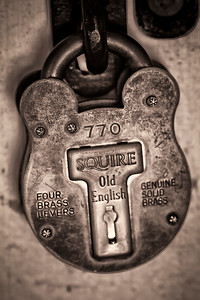 Old English Lock