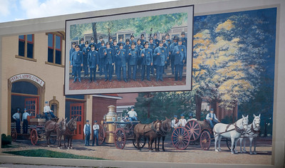 Early Police and Firemen.