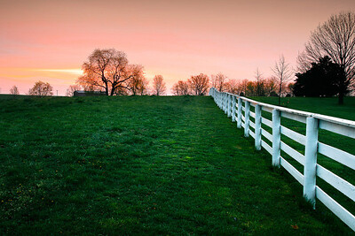 Sunrise at Shaker Village