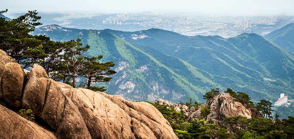 Sokcho from The Mountains