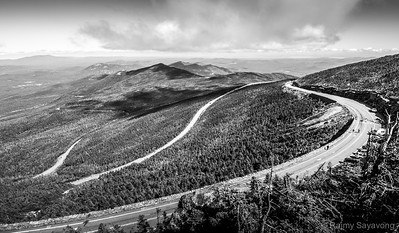 Up and up, Whiteface Mountain New York