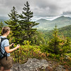 View from Cascade Mountain Trail Adirondack