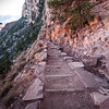 Steps Down South Kaibab Trail