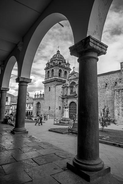 Spanish Church in Cuzco