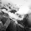 Terrace view Machu Picchu