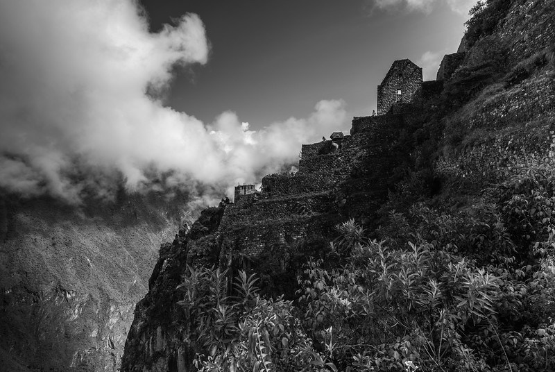 On the Edge, Machu Picchu, Peru