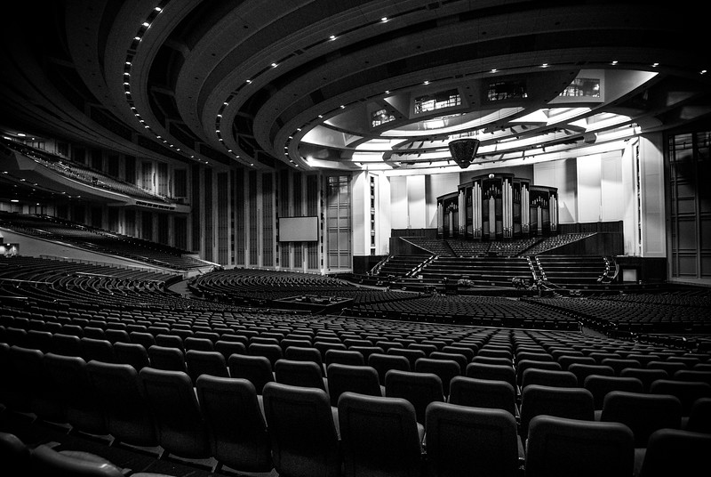 Temple Square Convention Centre Hall