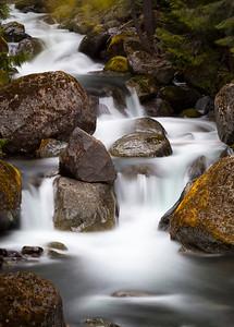 Rainier Cascade Mount Rainier National Park