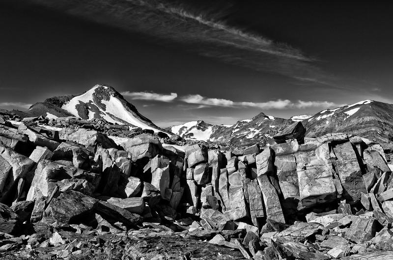 Above Septet Pass