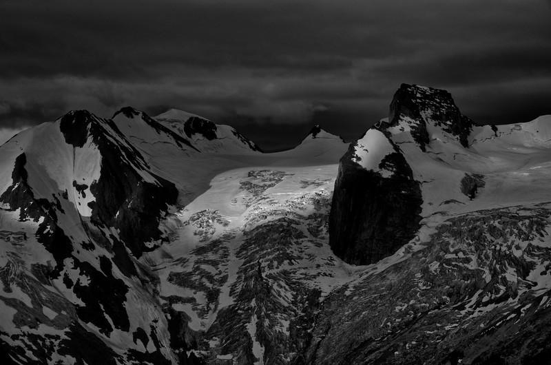 Sunrise on the Bugaboo Glacier