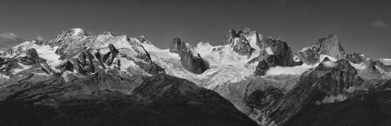 Bugaboo Glacier Panorama