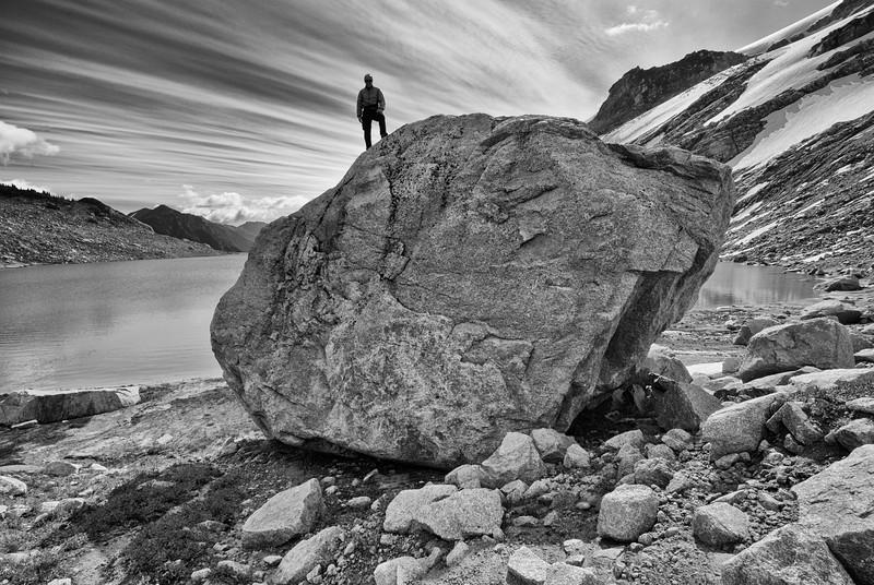 Big Boulder at Thunderwater Lake