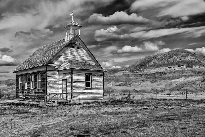 Old Schoolhouse at Dorothy Alberta