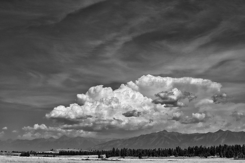 Clouds over the Rockies