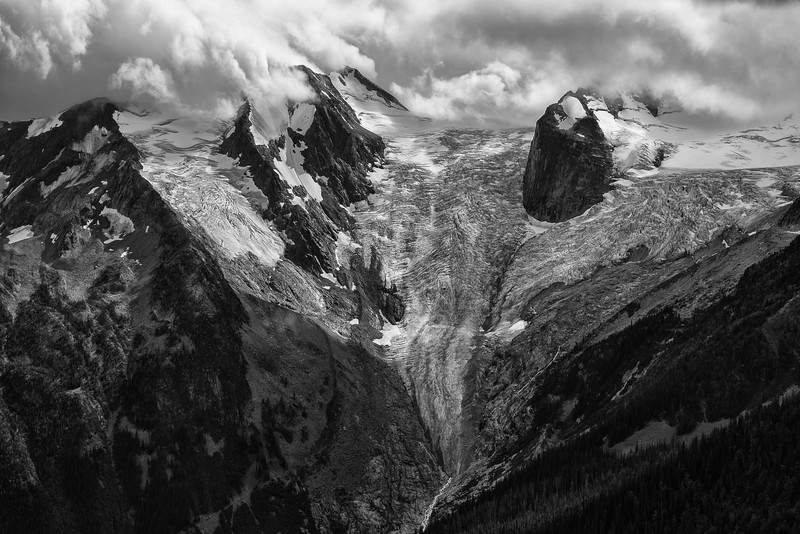 Stormy Day on the Bugaboo Glacier
