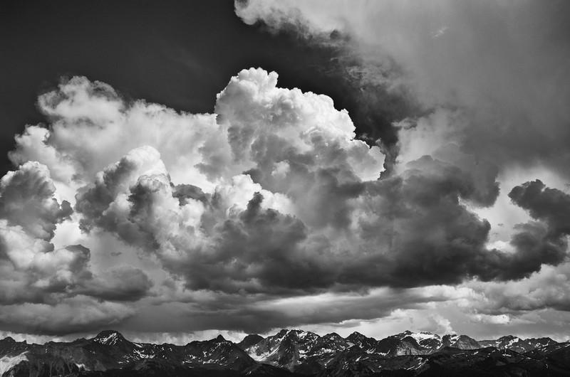 Storm Clouds over the Septet Range
