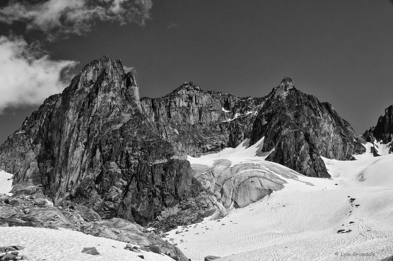 Flat Top and the Kickoff Glacier