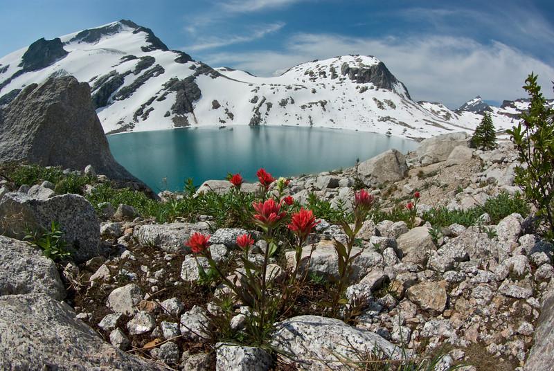 Paintbrush and Thunderwater Lake