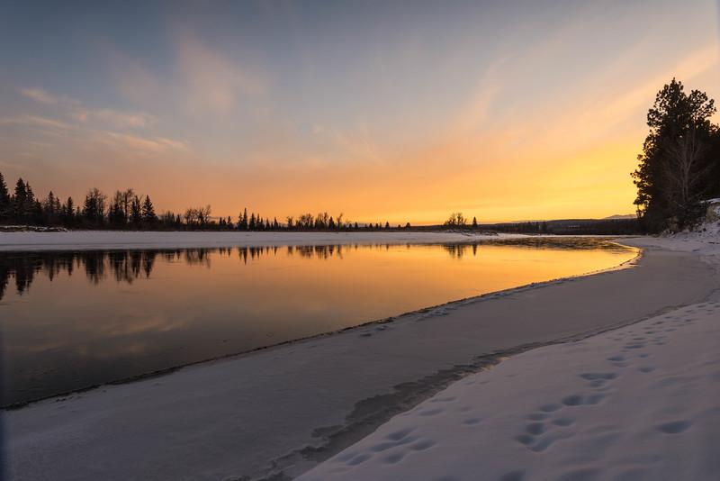 Kootenay River Reflections
