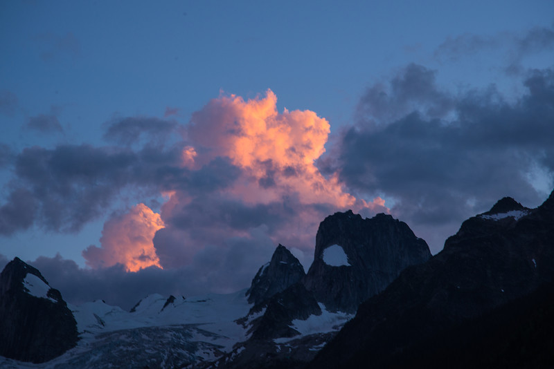 Sunset Bugaboos