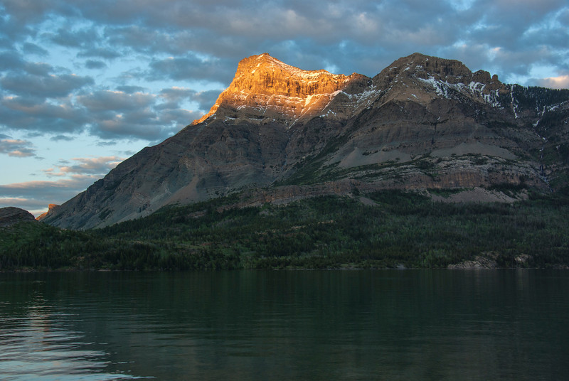 Waterton Lake Sunset