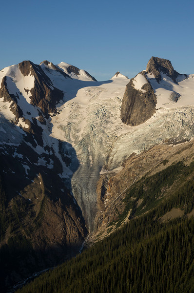 Early Morning Light on the Bugaboo Glacier