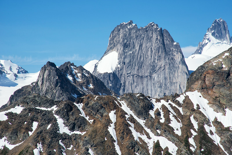 Snowpatch Spire on the Bugaboos