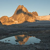 Sunset Reflection of Bugaboo Spire