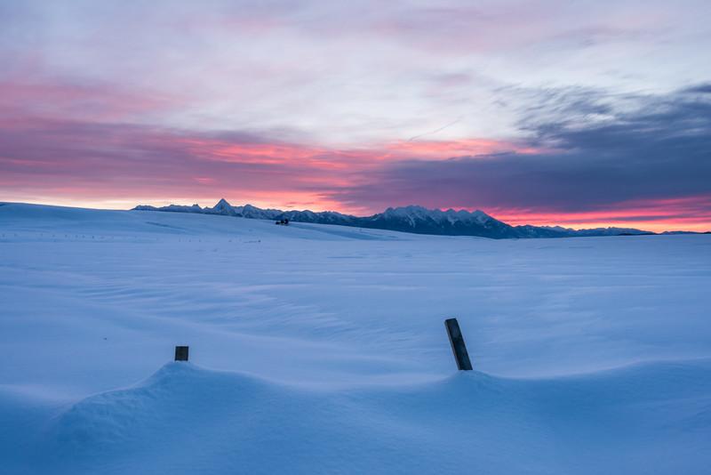 Sunrise on the Wycliffe Prairie