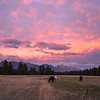 East Kootenay Sunset