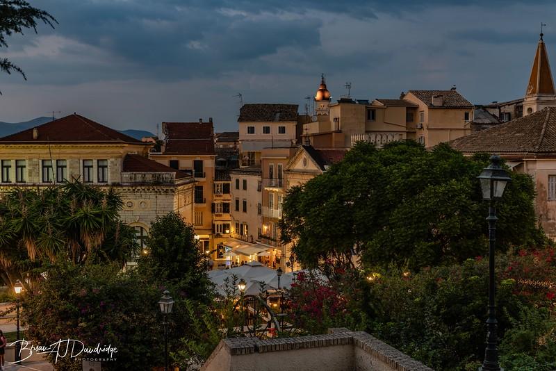 Evening in Corfu Town