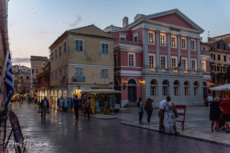 Late Summer evening in Corfu Town