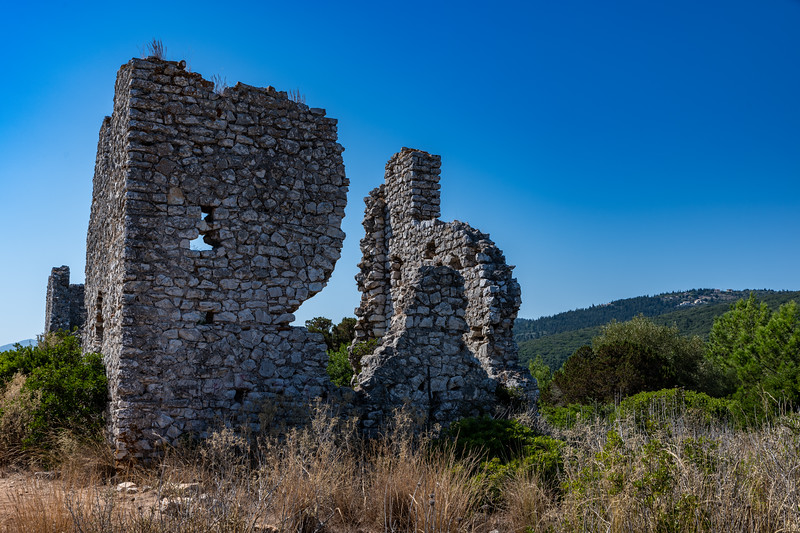 Remains of a small castle