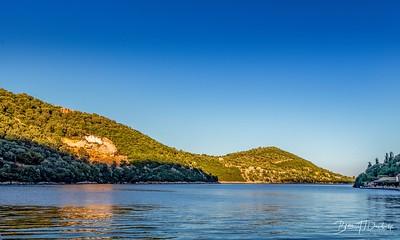 The Golden Hour begins at Sivota, Lefkada