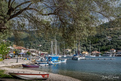 Sivota in April